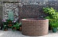 Antique Radial Brick Well