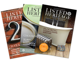 Listed Heritage Magazine Covers